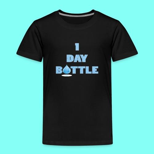 1 Day Bottle - Premium T-skjorte for barn