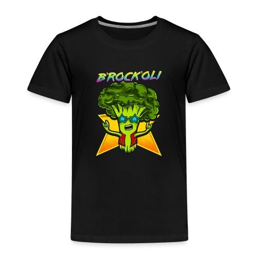 Brockoli das Rockende Brokkoli Geschenk - Kinder Premium T-Shirt