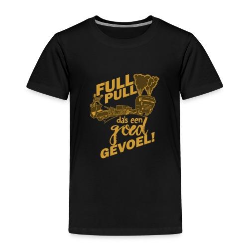 full pull duotone contour - Kinderen Premium T-shirt