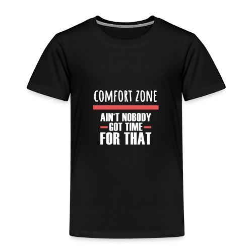 Komfort Zone Entwicklung Geschenk Herausforderung - Kinder Premium T-Shirt