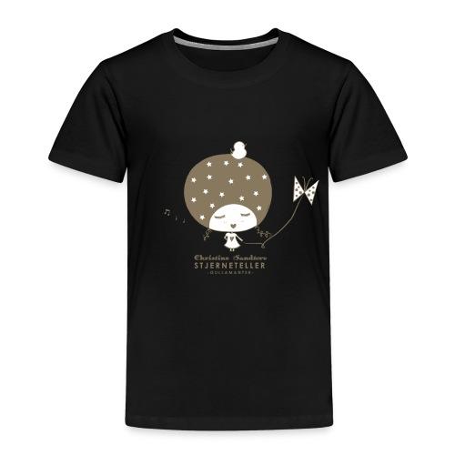 STJERNETELLER TSHIRT BRUN png - Premium T-skjorte for barn