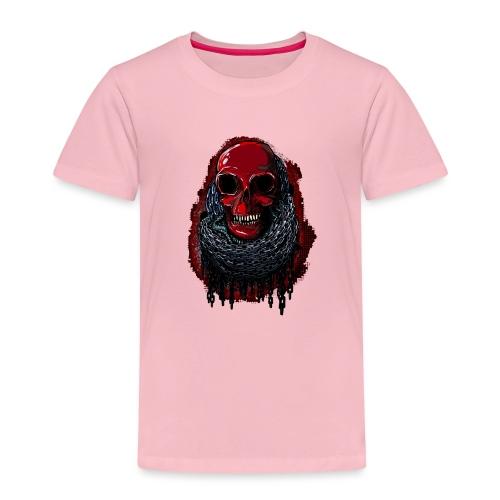 Red Skull in Chains - Kids' Premium T-Shirt
