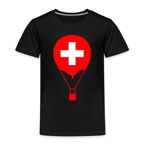 Gasballon im schweizer Design - Kinder Premium T-Shirt