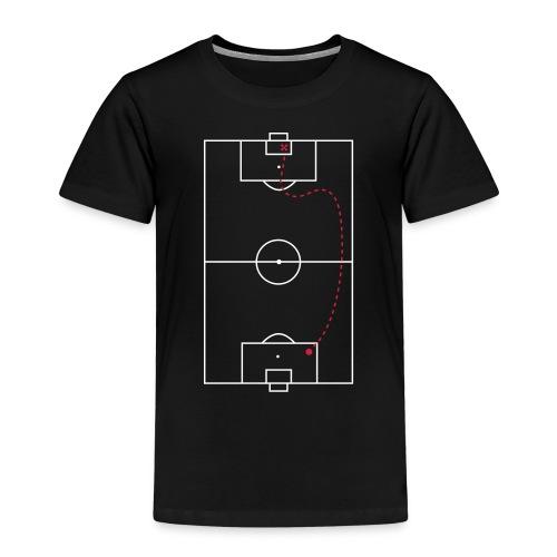 Schatkaart - Kinderen Premium T-shirt
