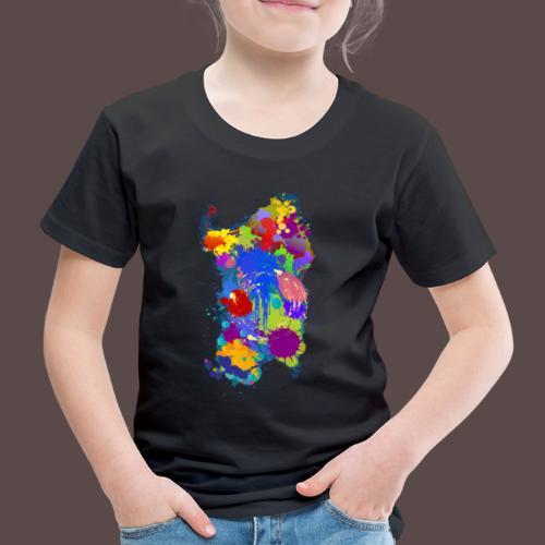 Sardegna Silhouette Paint - Maglietta Premium per bambini