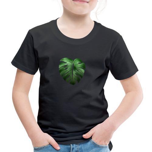 Foglia dalla Natura - Maglietta Premium per bambini