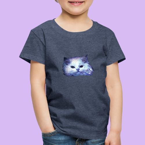 Gatto glitter - Maglietta Premium per bambini