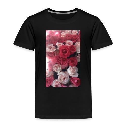 rosas - Camiseta premium niño