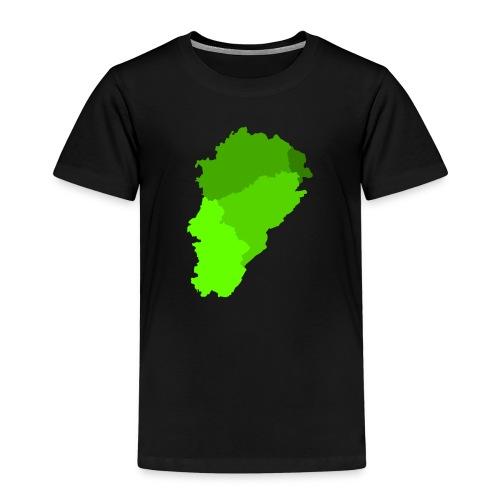 Franche-Comté verte - T-shirt Premium Enfant