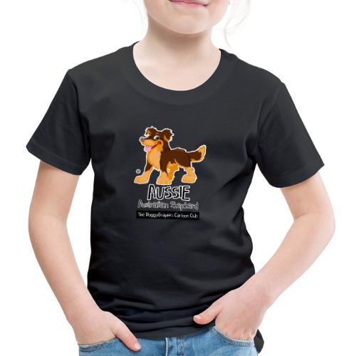 Aussie CartoonClub - Brown & Tan - Kids' Premium T-Shirt