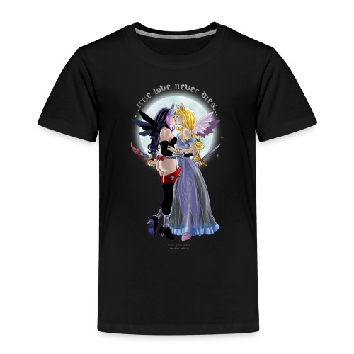 True Love Never Dies - Little Devil Vamp - Kinder Premium T-Shirt