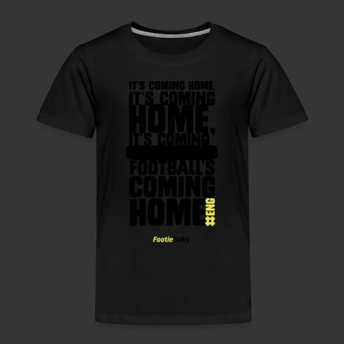 FootieTalks® home - Kids' Premium T-Shirt