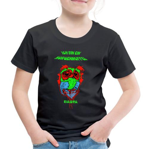 Morgenmuffel Eulenmotiv - Kinder Premium T-Shirt