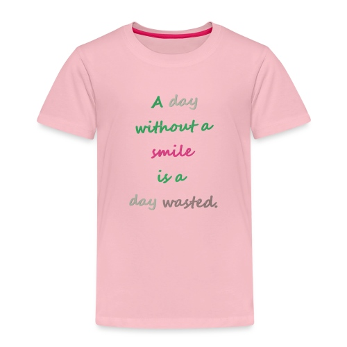 Say in English with effect - Kids' Premium T-Shirt