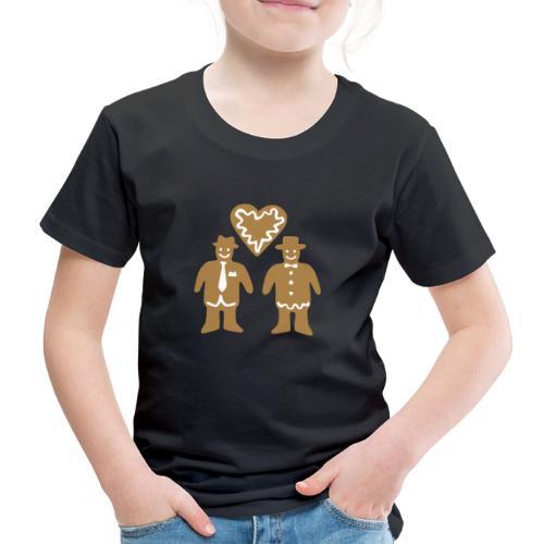 PEPPARKAKSGUBBAR - Premium-T-shirt barn