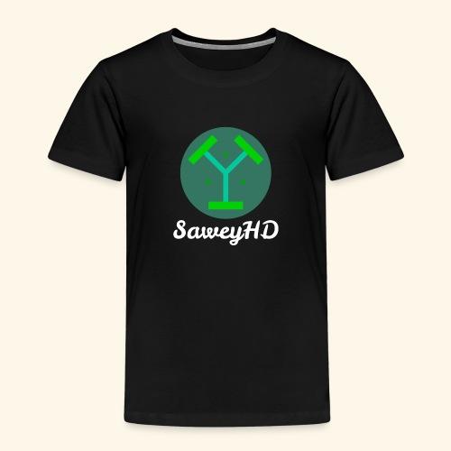 SaweyHD Schwarz - Kinder Premium T-Shirt