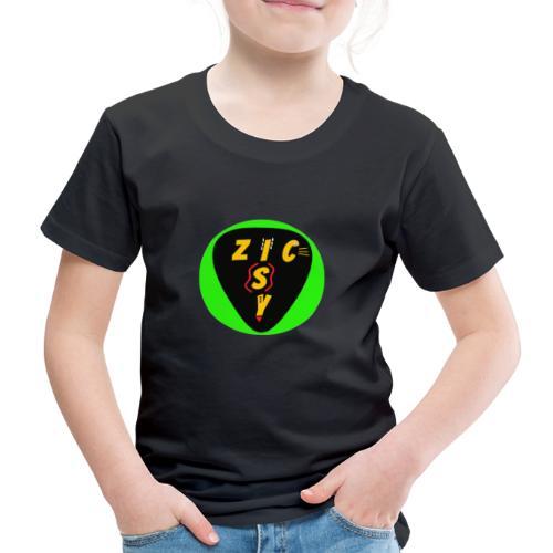 Zic izy rond vert - T-shirt Premium Enfant