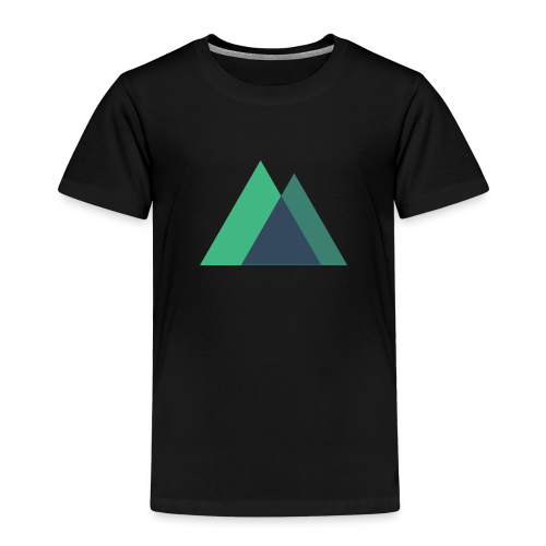 Mountain Logo - Kids' Premium T-Shirt