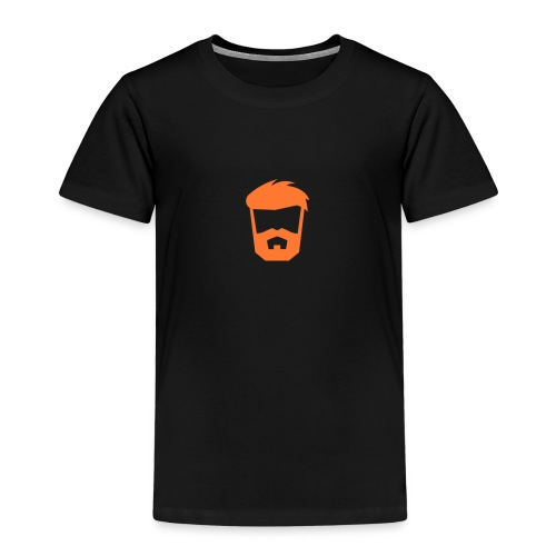 beard orange png - Premium-T-shirt barn