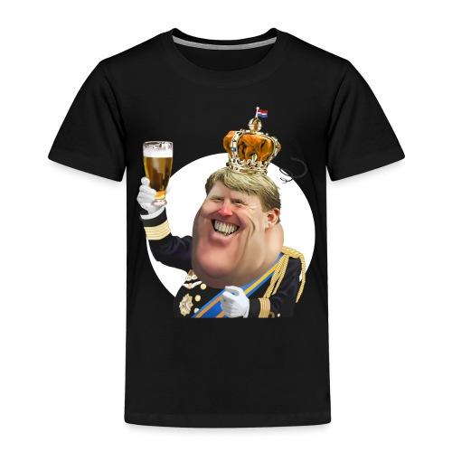 Koningsdag Willem-Alexander T-Shirt - Kinderen Premium T-shirt
