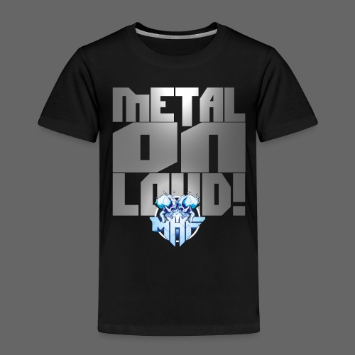 metalonloud large 4k png - Kids' Premium T-Shirt