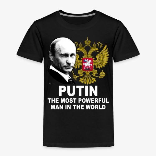 81 Putin The Most Powerful Man in the World - Kinder Premium T-Shirt
