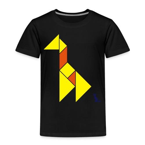 En mode tangram - Giraffe - T-shirt Premium Enfant