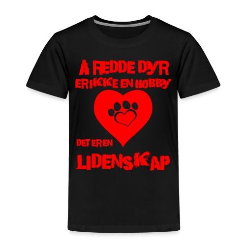 å redde dyr - Premium T-skjorte for barn