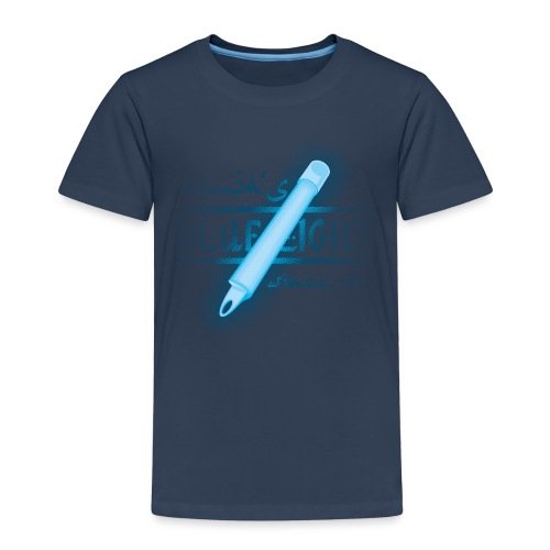 blaues licht - Kinder Premium T-Shirt