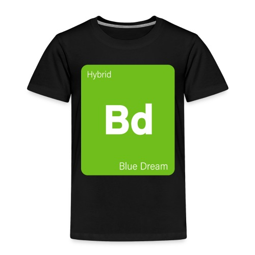Blue Dream Strain Cannabis Weed Stoner - Kinder Premium T-Shirt
