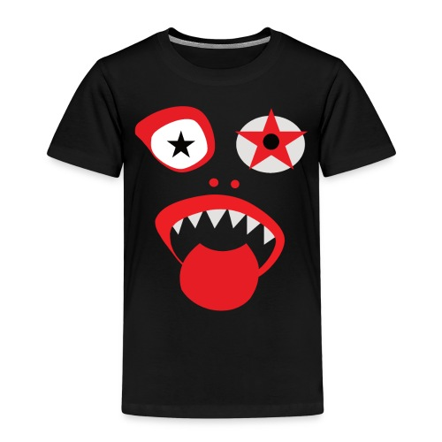 Clown Gesicht - Kinder Premium T-Shirt