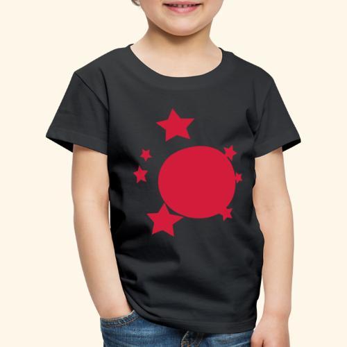 planeta i gwiazdy - Koszulka dziecięca Premium