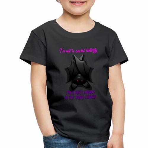 Bat Lurking in the Corner - Kids' Premium T-Shirt