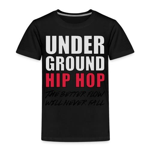 T-SHIRT UNDERGROUND HIP HOP - T-shirt Premium Enfant