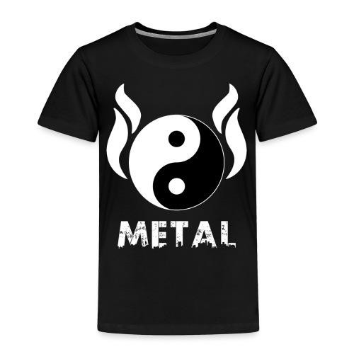 YIN YANG METAL - Kinder Premium T-Shirt