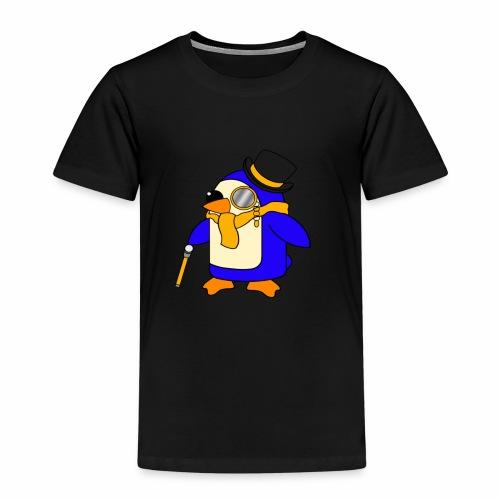 Cute Posh Sunny Yellow Penguin - Kids' Premium T-Shirt