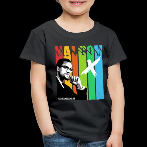 MALCOM X colourful - Kinder Premium T-Shirt