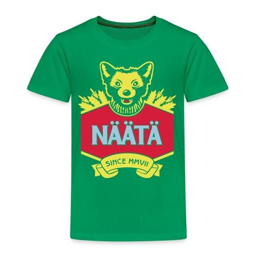 Näätä - Lasten premium t-paita