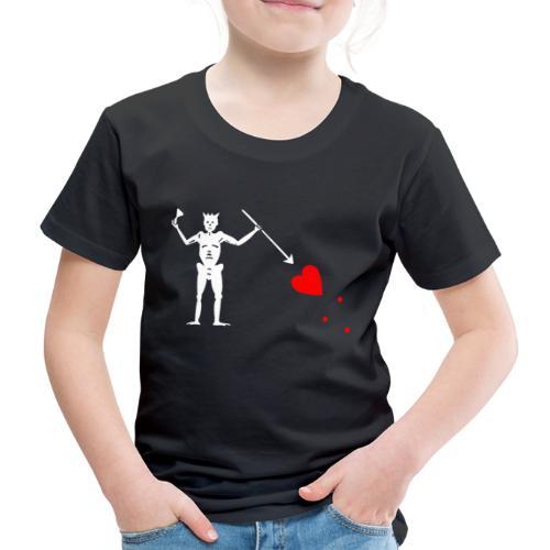 Edward Teach Flag - T-shirt Premium Enfant