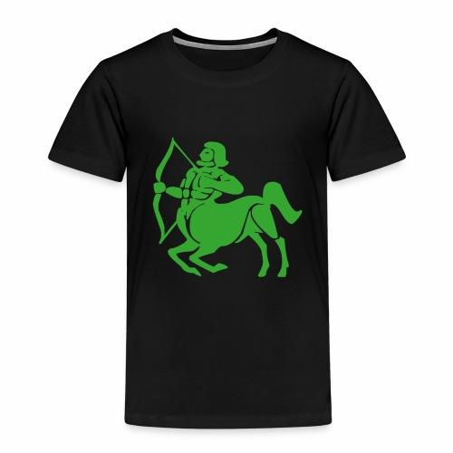 Das Sternzeichen Schütze trifft immer sein Ziel - Kinder Premium T-Shirt
