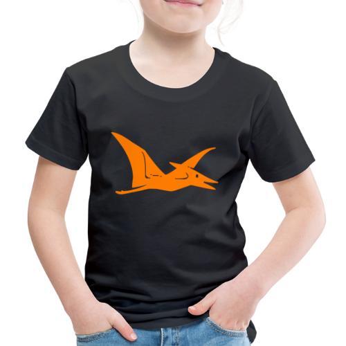Dieser Dino ist so groß wie ein Flugzeug - Kinder Premium T-Shirt