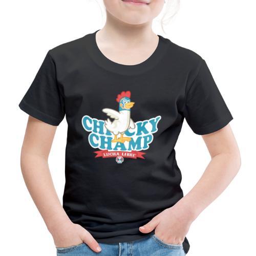 Chicky Champ - Maglietta Premium per bambini