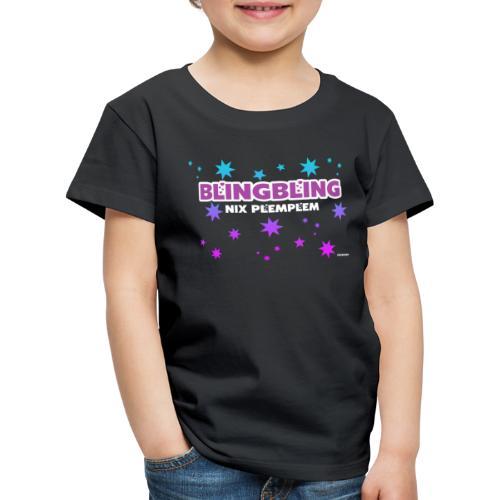 blingbling nixplemplem - Kinder Premium T-Shirt