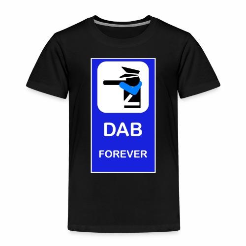 DAB POLICE BLUE - Maglietta Premium per bambini