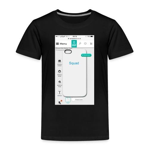 Squad iPhone case - Kids' Premium T-Shirt