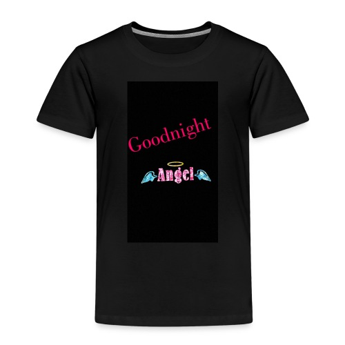 goodnight Angel Snapchat - Kids' Premium T-Shirt