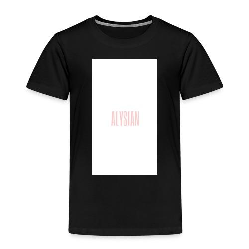 ALYSIAN LOGO - Maglietta Premium per bambini