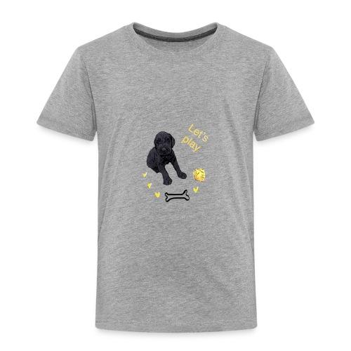 Giant Schnauzer puppy - Kids' Premium T-Shirt