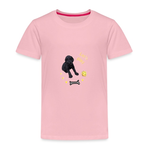Giant Schnauzer puppy - Kids' Premium T-Shirt