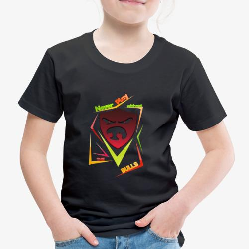 Bulls Shield - Kinder Premium T-Shirt